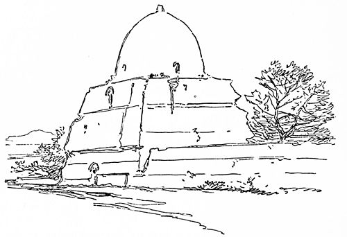 PSM V41 D786 Domed tomb constructed with mud.jpg