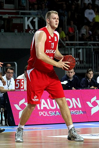 Przemek Karnowski - Karnowski with Poland in August 2014