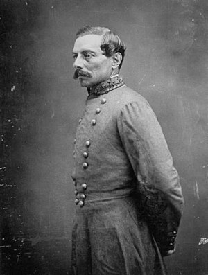 General officers in the Confederate States Army - P.G.T. Beauregard, the Confederacy's first brigadier general, later the fifth-ranking general