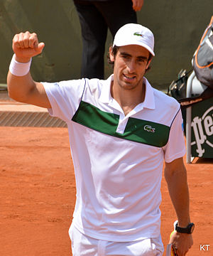 Pablo Cuevas - Cuevas at the 2015 French Open