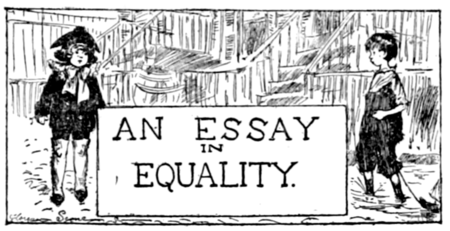 The Loom Of Destinyan Essay In Equality  Wikisource The Free  The Loom Of Destinyan Essay In Equality