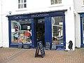 Painted black dog - geograph.org.uk - 1408469.jpg