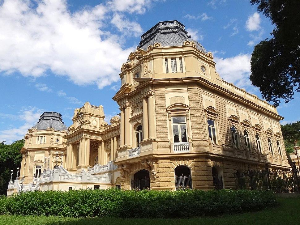 Palácio Guanabara exterior
