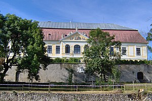 Plášťovce - Palásthy-manor house