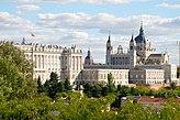 Palácio Real e Catedral de Almudena