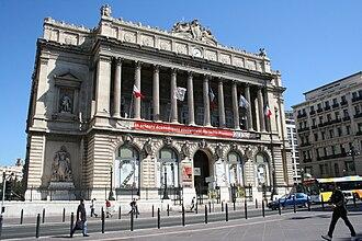 Palais de la Bourse (Marseille) - Image: Palais de la bourse à Marseille
