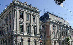 Avram Iancu Square, Cluj-Napoca - Image: Palatul de Justiţie din Cluj Napoca
