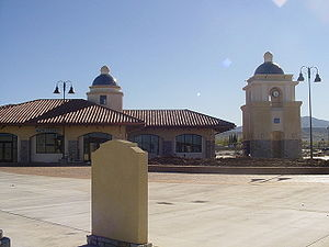 Antelope Valley Line - The Palmdale Transportation Center