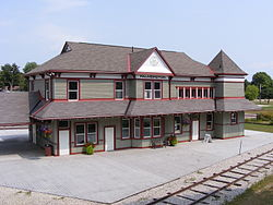 Former Palmerston train station, now museum