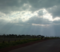Panchgani Sun shine in monsoon.png