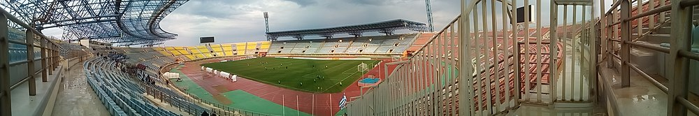 Panorama of the stadium