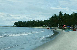 Barus - The beach at Barus