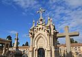 Panteó de la família Puchol i Sarthou, cementeri general, València.JPG