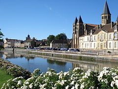 Bourbince w Paray-le-Monial