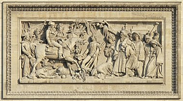 Paris Arc de Triomphe Bataille d'Aboukir