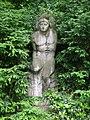Park am Weißen See Am Weißen See Der Schwimmer von Otto Placzek.JPG