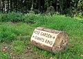 Path marker, Minnowburn - geograph.org.uk - 1513298.jpg