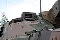 Patria AMV XA-361 AMOS Kokonaisturvallisuus 2015 06 turret optics.JPG