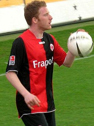 Patrick Ochs - Patrick Ochs playing for Frankfurt in 2008