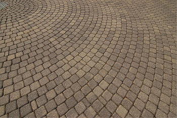 English: Photograph of some concrete Paver blo...