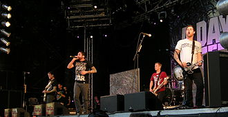 2010s in music - A Day to Remember have been one of the most successful hard pop rock bands of the 2010s.