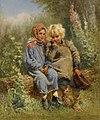 Peasant Children at rest by Konstantin Makovsky.jpg