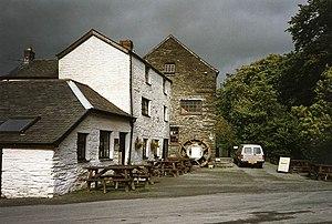 Penegoes - Image: Penegoes Water Mill, near Machynlleth geograph.org.uk 38865