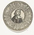 Penning met het portret van aartsbisschop Jozef Klements en de namen van de keurvorsten van Keulen, RP-P-OB-7259-40.jpg