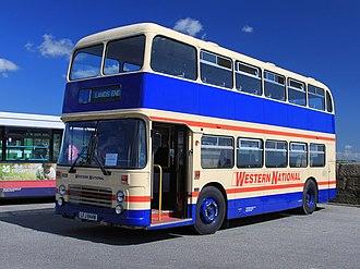Western National - Preserved Bristol VRT in Penzance in April 2012