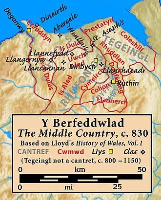 Tegeingl - Image: Perfeddulad
