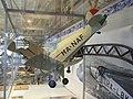 Petőfi Csarnok, Repüléstörténeti kiállítás, Bücker Bü 133C Jungmeister modellje.JPG