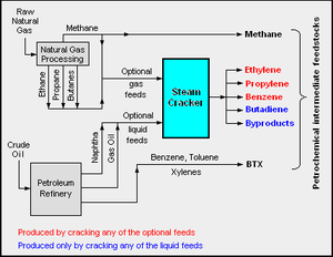 Petrochemical - Petrochemical feedstock sources