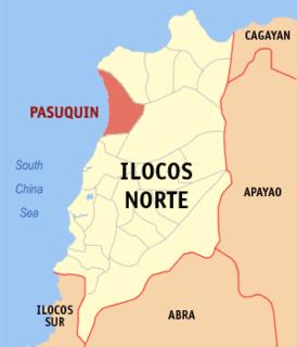 Pasuquin Municipality in Ilocos Region, Philippines