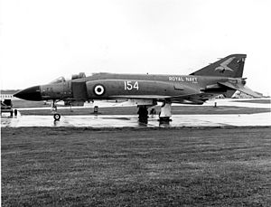 767 Naval Air Squadron - A Phantom FG.1 of 767 NAS during the 1970's