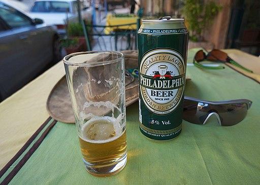 Philadelphia beer can