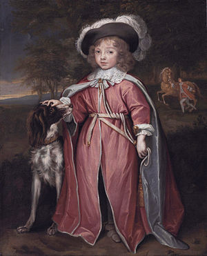 Philip Herbert, 7th Earl of Pembroke - Philip Herbert, at about the age of eight, in the robes of the Order of the Bath (John Michael Wright)
