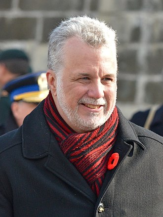 42nd Quebec general election - Image: Philippe Couillard 2014 11 11 E