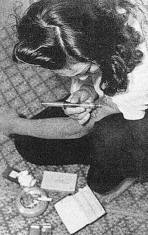 覚醒剤依存症患者(1950年代)
