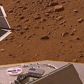 Il DVD sulla sonda Phoenix è forse la più singolare delle eredità di Sagan.
