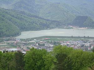 Piatra Neamt - Top Of Mt. Cozla 1 (lake)