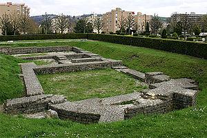 Yverdon-les-Bains - Castrum of Yverdon