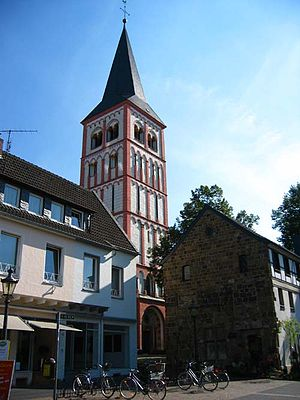 Siegburg - St. Servatius and the Haus zum Winter (1220 AD)