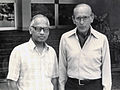 Picture of Dr Charles Hufnagel and Prof. M. S. Valiathan.jpg