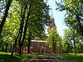 Piekary Śląskie, kościół kalwaryjski, ob. par. pw. Zmartwychwstania Pańskiego 06.JPG