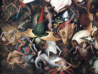 The Fall of the Rebel Angels (Bruegel) - Image: Pieter Bruegel I Fall of rebel Angels IMG 1446
