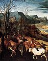 Pieter Bruegel the Elder - The Return of the Herd (detail) - WGA3457.jpg
