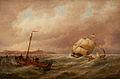 Pieter Cornelis Dommersen - Scheepvaart in de haven.jpg