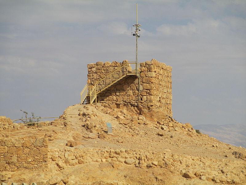 מגדל שמירה במצדה
