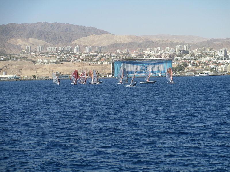 מפרשיות במפרץ אילת