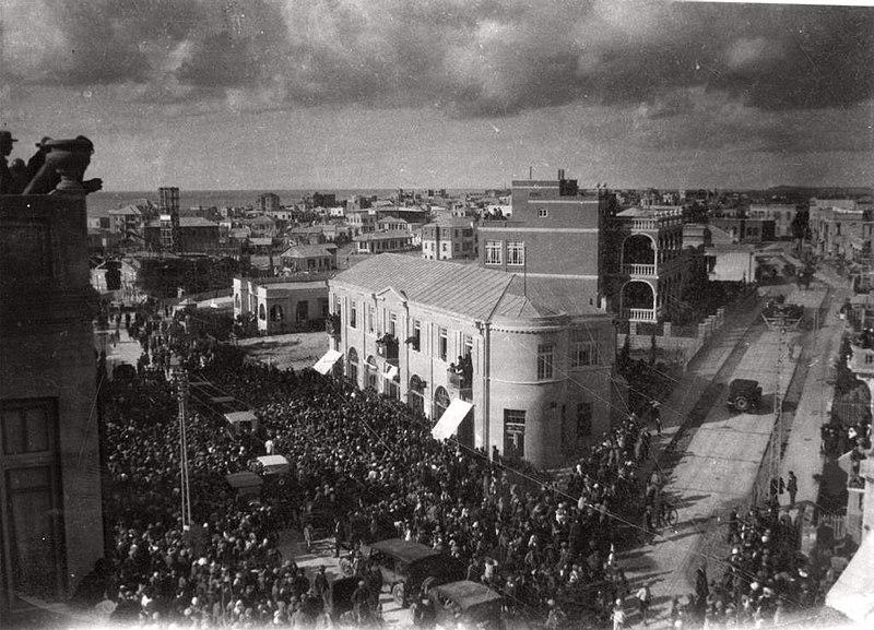 מסע הלוויה 1921